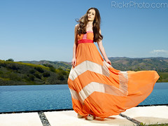 Lauren Calaway - The Orange Dress (RickrPhoto) Tags: california ca 2 orange lauren pool beauty fashion rose digital photography one photo back los photographer dress view dish angeles head vibrant infinity iii flash scenic rick location hasselblad ii 1200 plus mansion h2 phase hc mola calabasas d4 acute profoto p45 f3545 calaway 2r setti pocketwizard 50110 rickr hv90x multimac blinkagain rickrphoto