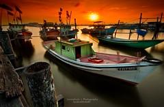 Sepetang Di Seberang Takir with Palie Massa (SyahrulMohd) Tags: seascape landscape nightscape slowshutter timescape syahrulmohd timesacape