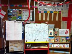 Words, tube map, English books