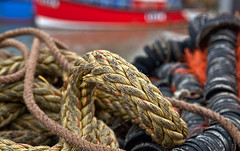 Trawler Tackle. (Seascape snapper) Tags: boats harbour ropes whitstable