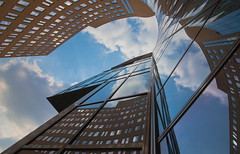 Up! (Jeronim01) Tags: blue light abstract holland color colour reflection building art netherlands up lines architecture composition canon photography licht europa europe blauw fotografie angle graphic pov geometry perspective nederland kantoorgebouw officebuilding reflexions paysbas architectuur gebouw lijnen geometrie kleur reflectie grafisch spiegeling compositie linescurves diagonaal archshot anglesanglesangles abstractcolour geometriegeometry canoneos5dmarkii canonnl vanagram creattività jeronim jeronim01 jeroenvandewiel