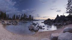 He who knows that enough is enough will always have enough… (ferpectshotz) Tags: statepark lake beach rocks nevada laketahoe boulders sierranevada alpinelake sandharbor