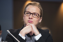 Dorota Pyć at the Closed Ministerial Session