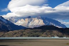 DSC_1633 Torres del Paine National Park - Patagonia, Chile: Lago Grey (wanderlust  traveler) Tags: chile sky panorama patagonia mountain lake tree green ice nature grass landscape lago waterfall nationalpark spring scenery cows lagoon hike glacier stunning lamb estancia torresdelpaine rhea nadu gaucho pehoe
