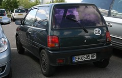1990-1994 Daihatsu Cuore (davocano) Tags: keicar brooklands moparmuscleday2014 eh6505bp