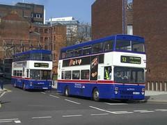 Metrobus Departure (MCW1987) Tags: travel west birmingham national mk2 express midlands metrobus twm mcw 2807 2985 mcwmetrobus b807aop e985vuk