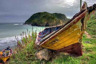 El viejo bote - Caleta Estaquilla (Patagonia - Chile)