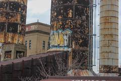Coma (NJphotograffer) Tags: graffiti graff pennsylvania pa philadelphia philly abandoned building urban explore rooftop coma rip oal crew