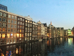 Symmetrical Houses (travelquo) Tags: travel photos amsterdam canals canal house netherlands symmetrical