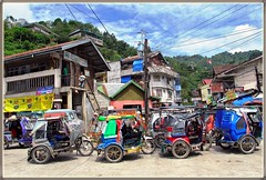 The heart of Banaue (315Edith) Tags: philippines banaue ifugao tricycles cordilleras northernluzon canong12