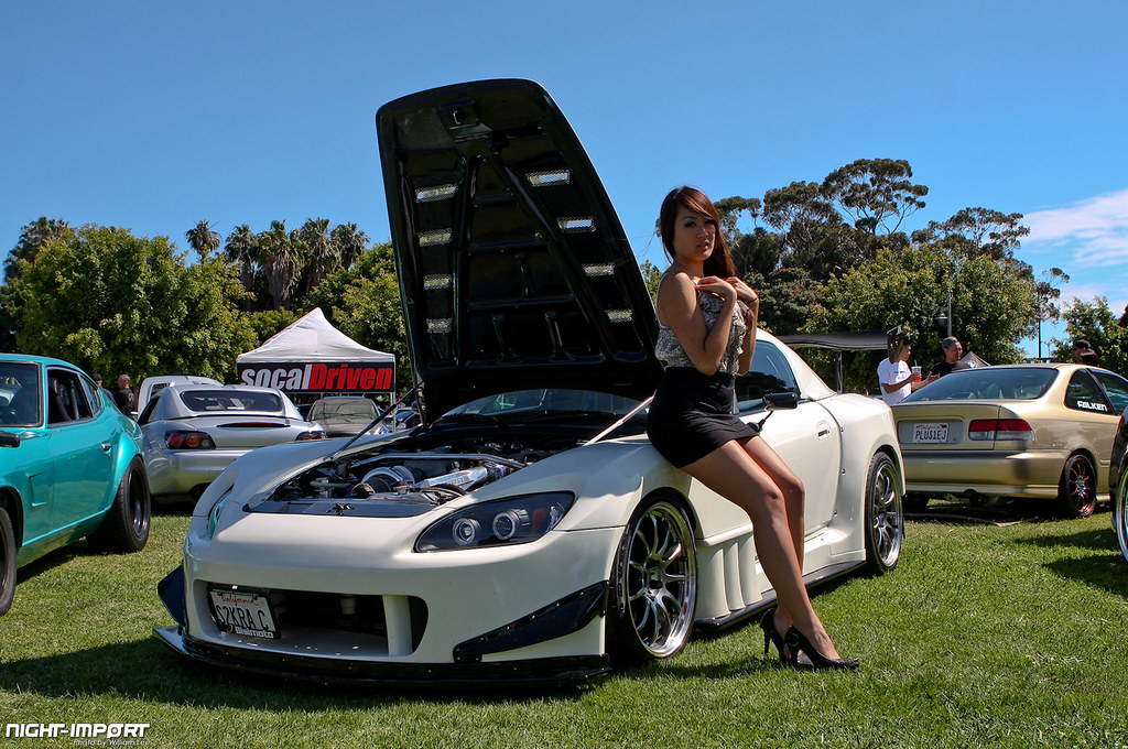Charles's S2000 and Tracy Linh