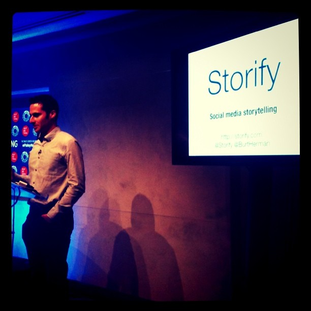 Storify - social media storytelling #paleynext