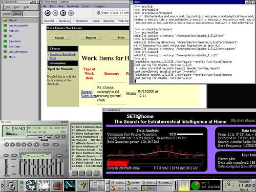 GNOME Linux Desktop v1