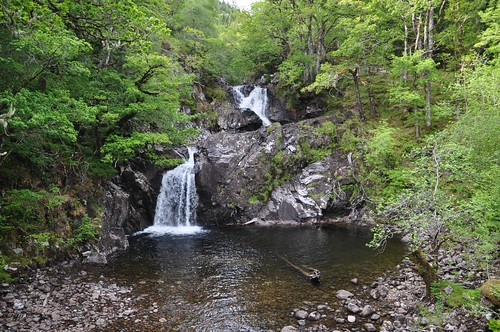 Eas Chia-aig Witches Pool and Waterfall