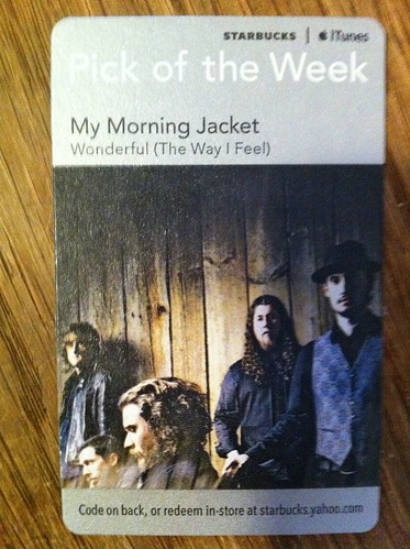 Starbucks iTunes Pick of the Week - My Morning Jacket - Wonderful (The Way I Feel)