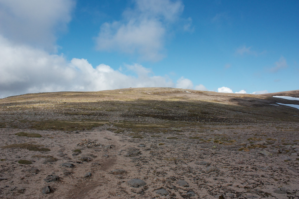 Track to the summit of Ben MacDui