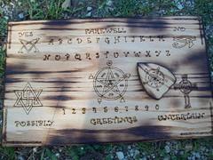 Custom crafted Ouija Board (dragonoak) Tags: ouijaboard dragonoak