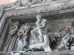 Rodin's Gates of Hell: The Thinker