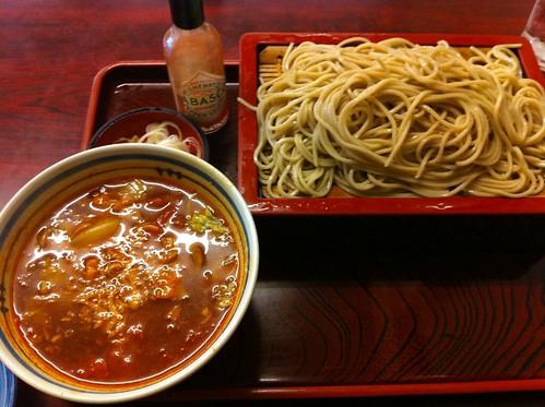 増田屋 外苑前店 トマトせいろ蕎麦
