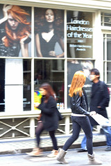 red hair (Rednaxela13) Tags: street red people london girl canon hair eos ginger boots snapshot redhead jeans passerby leatherjacket alexhughes 60d alexhughes alexanderhughes