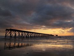 Stormy Steetley Sunrise. (paul downing) Tags: industry sunrise pier spring pdp hartlepool capturinglight steetley coastaluk pd1001 pauldowning