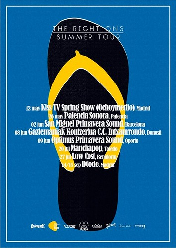 The Right Ons Summer Tour 2012