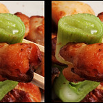 IMG_4569 ねぎ塩チキン green onion and chicken (parallel 3D / for Hasbro My 3D) thumbnail