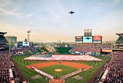 Opening Day (ezperkins2) Tags: california america baseball angels c17 orangecounty anaheim flyover openingday laa mlb biga