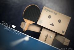 Danbo <3 Table Tennis (Michele Cannone) Tags: sport pingpong tabletennis fitness danbo pupazzi tennistavolo