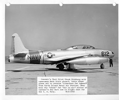 Mark Irwin Special Collection Photo (San Diego Air & Space Museum Archives) Tags: aviation nasa consolidated atlas apollo usnavy usn aviator convair tv2 shootingstar unitedstatesnavy t33 lockheedt33 testpilot t33shootingstar 126612 lockheedt33shootingstar markirwin t33b lockheedtv2 richbourg t33bshootingstar lockheedt33b charleserichbourg charlesrichbourg chuckrichbourg buno126612 usaf514109 514109 lockheedt33bshootingstar t331lo