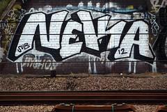 Neka 1T (Alex Ellison) Tags: urban graffiti trackside northlondon neka 1t nekah neks