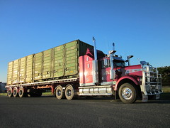 Atlas Kenworth W model (Black thunder_84) Tags: truck australia atlas kenworth haulage w900