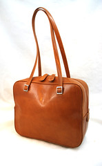Fossil Satchel Made in Italy - Free US Priority Ship (ModPops) Tags: new italy west leather vintage handle fossil us ship tan free tags double east made purse british bags shipping priority satchel handbag without purses zip lined
