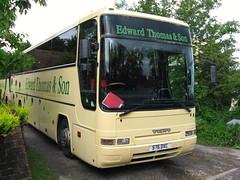Edward Thomas & Son: 576DXC - 29-05-14 (peter_b2008) Tags: volvo transport surrey premiere coaches plaxton b10m westewell edwardthomasson 576dxc