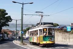 Tram 571 de Lisbonne (Portugal) (Trams aux fils (Alain GAVILLET)) Tags: portugal rails railways trams carris trolleys strassenbahn lisbonne tramways tranvias transportpublic sparvagn ilustrarportugal amateurstrams photostrams photostramways électricos amateurstramways amateurstransportpublic tramsdelisbonne tramwaysdelisbonne tramsportugais tramwaysportugais lisbonnetram571ancien223 électricosdelisbonne