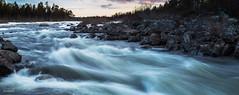 Haapakoski rapids (M. Mndez) Tags: inari viajes finlandia