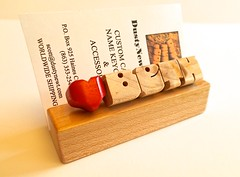 Maple Desk Name with Heart (DustyNewt Scott) Tags: wood plaque wooden carved office maple heart display desk handmade name shelf teacher woodworking personalized cardholder businesscardholder dustynewt desknameplate