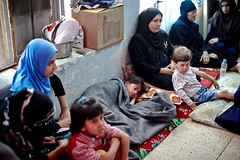 Iraq Crisis: Finding a Place to Stay (UNHCR) Tags: children women sitting iraq middleeast hijab help aid violence shelter protection assistance unhcr mosul insecurity displaced displacement idps dahouk internallydisplacedpeople displacedpersons displacedpeople internallydisplaced unrefugeeagency unitednationsrefugeeagency unitednationshighcommissionerforrefugees unhighcommissionerforrefugees