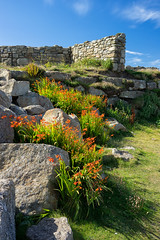 Land's End Rocks and Wall (perkijl61) Tags: landsend england