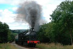 20060822    49395 (paulbrankin775) Tags: 080 lnwr super superd d steam north yorkshire moors railway grosmont train pickering engine smoke r