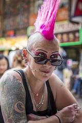 HC9Q9159 (rodwey2004) Tags: punks mohawk mohican streetphotography camden thestablesmarket