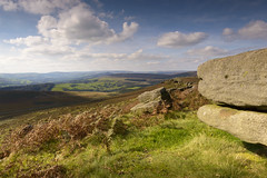 View from Stannage Edge (John__Hull) Tags: stanage edge peak district hope england uk countryside landscape breath taking ferns derbyshire nikon d3200 sigma 1020mm clouds sky rocks millstone