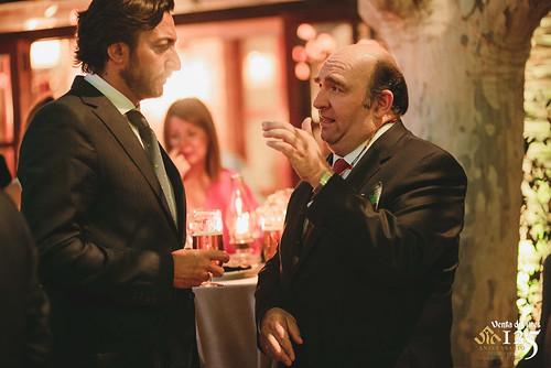 Manuel Sánchez y Joaquín Sánchez Garrido. Restaurante Venta de Aires de Toledo