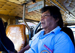 Jeepney (19) (momentspause) Tags: ricohgr ricoh jeepney manila philippines filipino candidportrait candid man travel