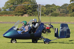 G-HMHM (QSY on-route) Tags: ghmhm rotorsport uk gyro autogyro gyrocopter fly in 2016 wolverhampton halfpenny green egbo 02102016