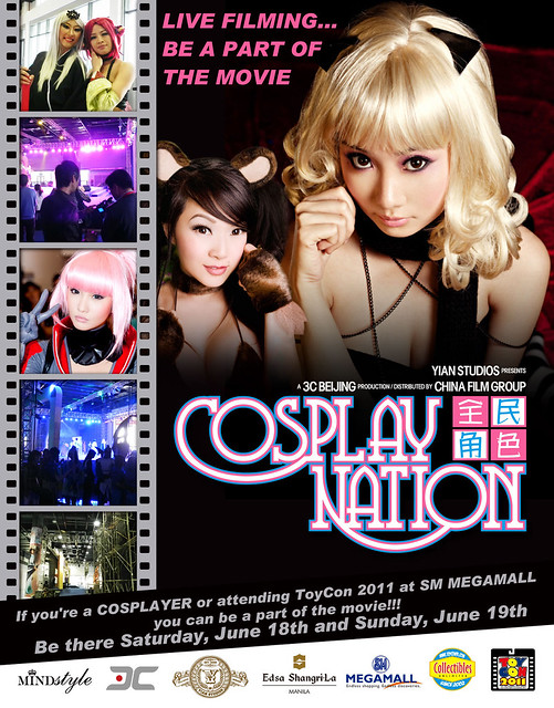 Cosplay Nation - Manila filming poster
