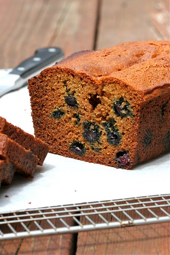 Blueberry-Lemon Graham Bread 3