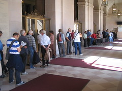 Standing Room Ticket line at SF Opera