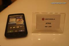 Motorola Atrix, selling at RM1,999 in Malaysia.