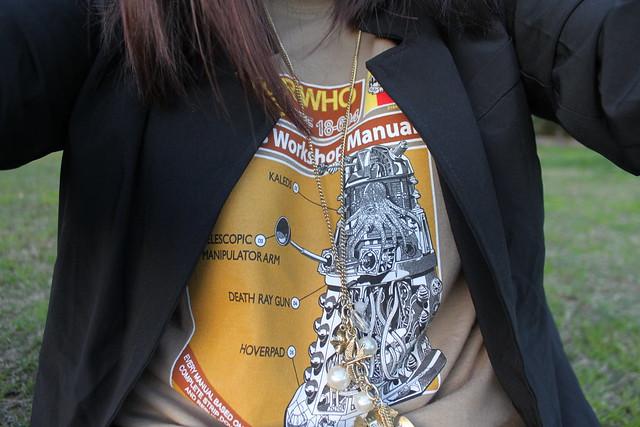Dalek on a shirt